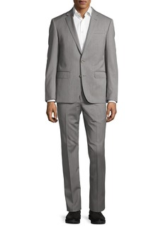 Neiman Marcus Two-Button Two-Piece Suit