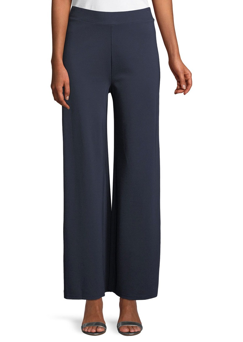 Neiman Marcus PNT WIDE LEG PULL ON PNT