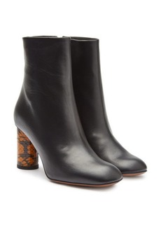 Neous Aris Leather Ankle Boots