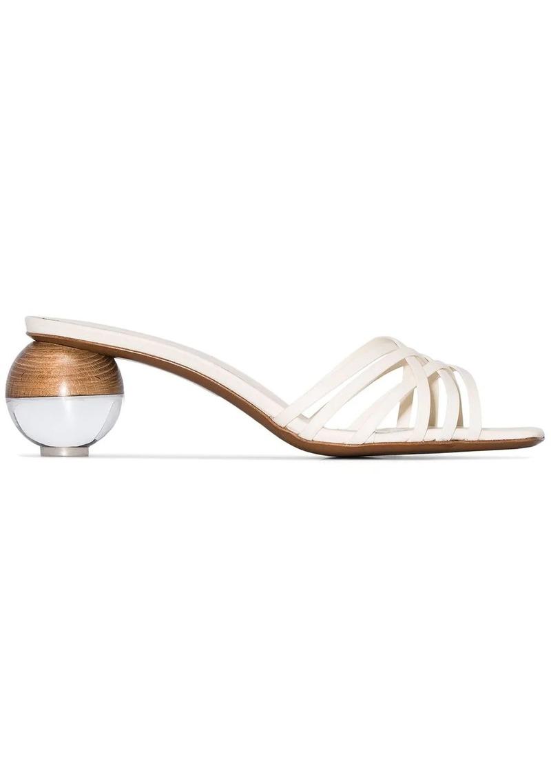 Neous Calpa spherical-heel sandals