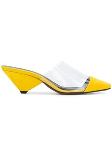 Neous clear panel pumps