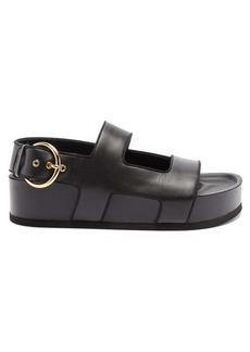 NEOUS Cher leather platform sandals