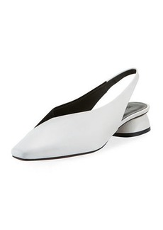 Neous Kingia Slingback Leather Flat