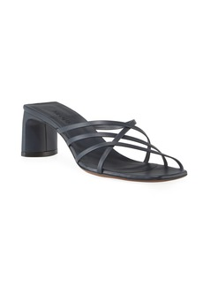 Neous Mannia Slide Crisscross Sandals  Navy