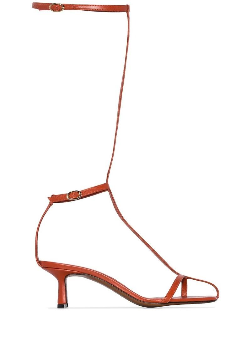 Neous Niella double strap mid-calf sandals