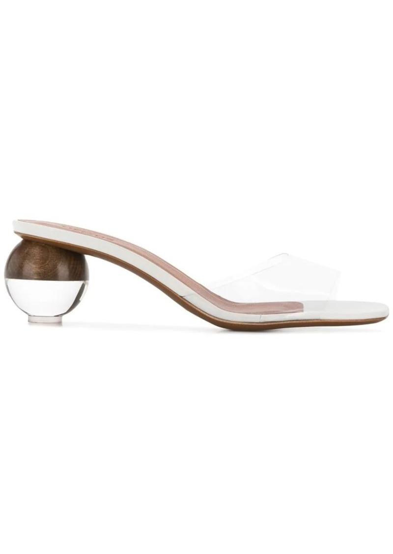 Opus clear sandals