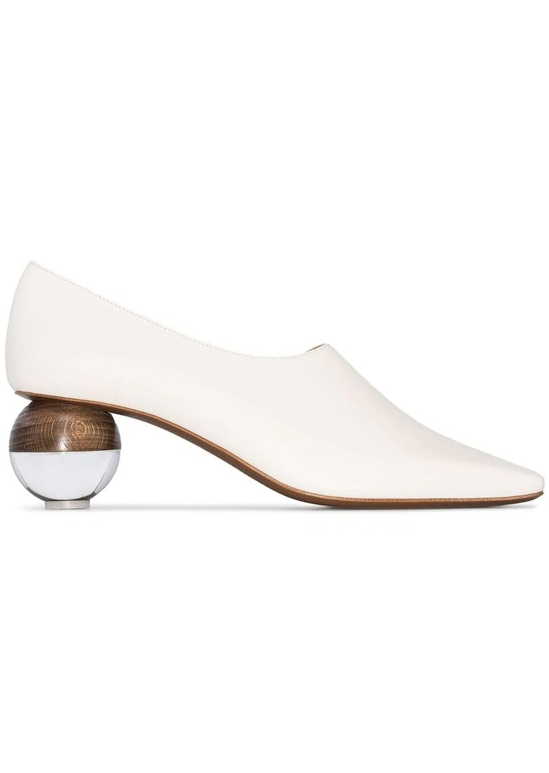 Neous Orchis ball heel pumps