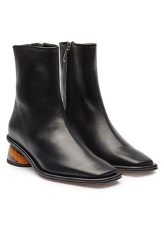 Neous Sed Leather Ankle Boots