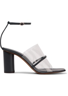 Neous Tuber Leather And Pvc Sandals