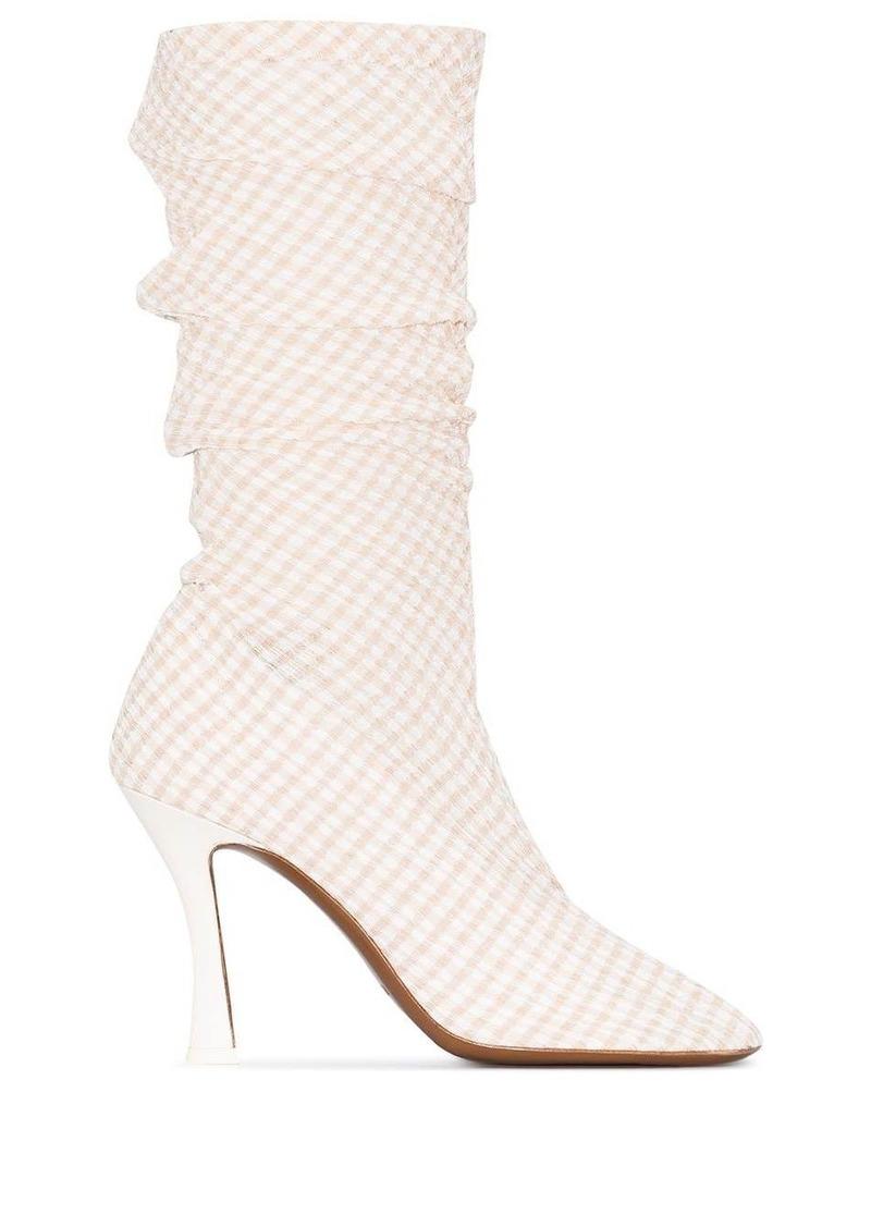 Tuberola gingham boots