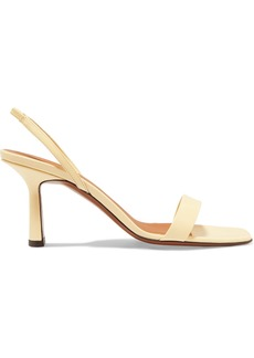 Neous Tulip Leather Slingback Sandals