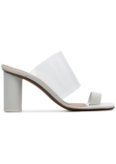 Neous white Chost 80 leather PVC sandals
