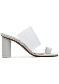Neous white Chost 80 leather PVC sandals