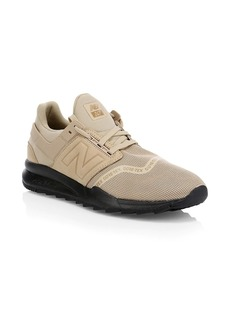 New Balance 247 Leather & Mesh Sneakers