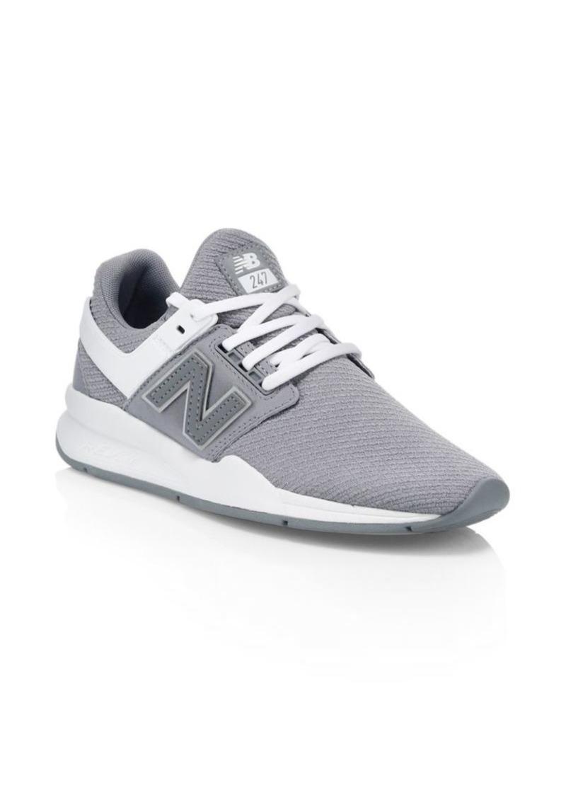 New Balance 247 Mesh Knit Sneakers