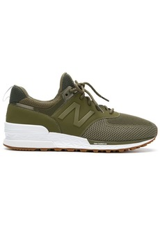 New Balance 574 logo sneakers