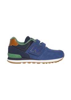 New Balance 574 Suede & Canvas Sneakers