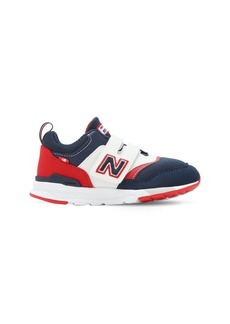 New Balance 997 Faux Leather & Mesh Strap Sneakers