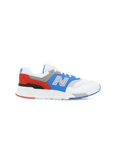 New Balance 997 Mesh & Suede Lace-up Sneakers