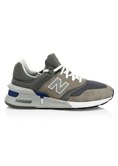 New Balance 997 Nubuck & Mesh Sneakers