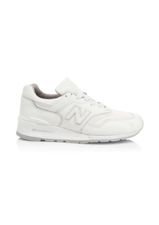 New Balance 997 Made in USA Bison Pack Leather Sneakers