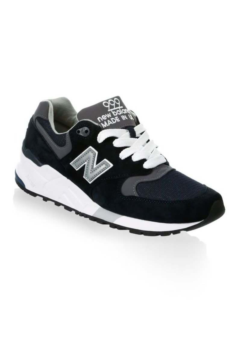 the best attitude 81eb2 229a2 999 Suede Mesh Athletic Sneakers