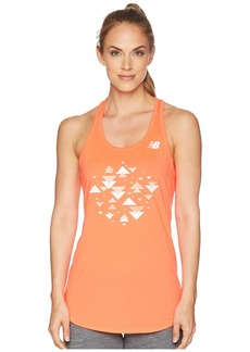 New Balance Accelerate Tank Printed