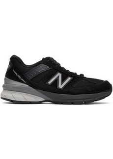 New Balance Black & Grey Made In US 990v5 Sneakers