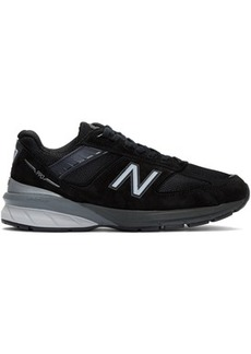 New Balance Black & Silver US Made 990 v5 Sneakers