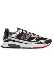 New Balance Black & Silver X-Racer Sneakers