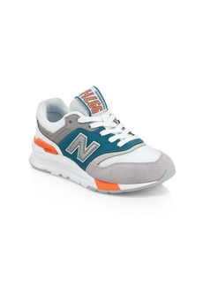New Balance Boy's 997H Suede & Mesh Patchwork Sneakers