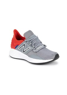 New Balance Boy's ROVV1 Knit Low-Top Sneakers