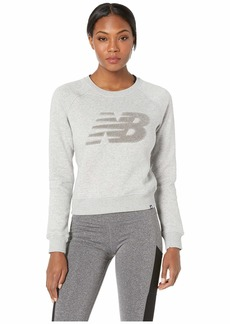New Balance Chenille Brushed Crew Top