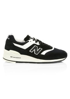 New Balance China SMU Suede & Mesh Sneakers