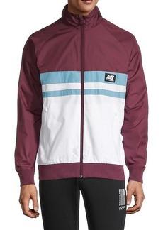 New Balance Colorblock Raglan-Sleeve Jacket