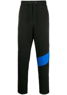 New Balance contrasting band track pants