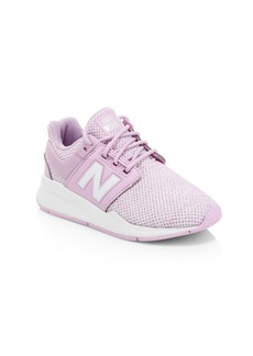 New Balance Girl's 247 Crystal Knit Sneakers