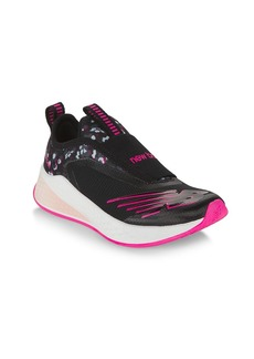 New Balance Girl's YTFSTBP2 Knit Sneakers