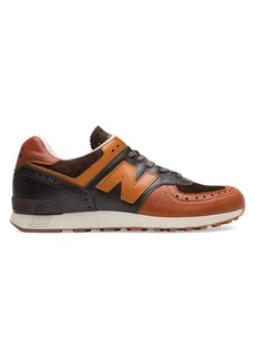 Grenson x New Balance Made UK 576 Leather Low-Top Sneakers