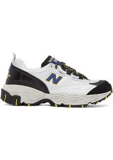 New Balance Grey & Black 801 Sneakers