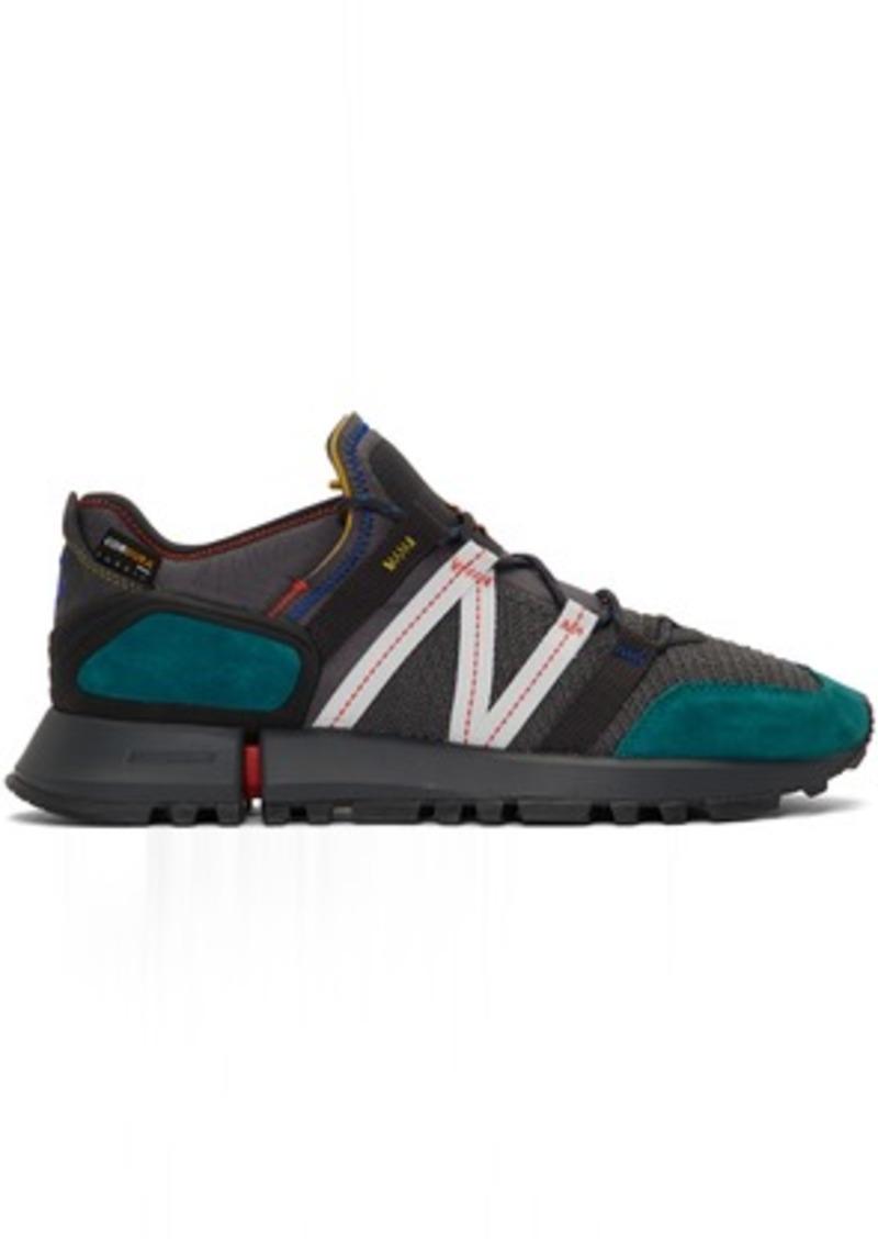 New Balance Grey & Blue Tokyo Design Studio R_C4 Sneakers