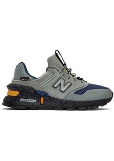 New Balance Grey & Navy 997 Sport Sneakers