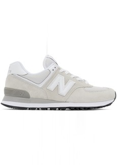 New Balance Grey & Silver 997H Sneakers