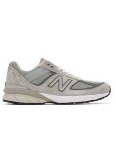 New Balance Grey US Made 990v5 Sneakers