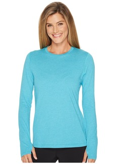 New Balance Heather Tech Long Sleeve Top