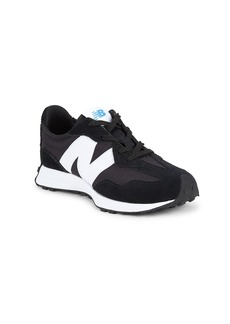 New Balance Kid's 327V1 Suede & Mesh Sneakers