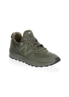 New Balance Kid's Mixed Media Low-Top Sneakers