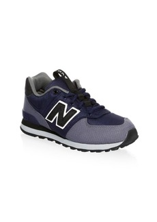 New Balance Kid's Suede Paneled Sneakers