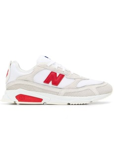 New Balance lace-up logo sneakers