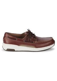 New Balance Leather Boat Shoes